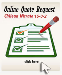 Online Quote Request Form for Chilean Nitrate